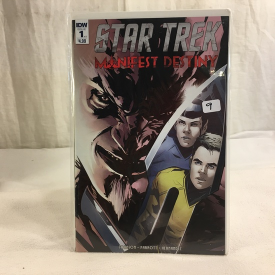 Collector IDW Comics Star Trek Manifest Destiny Issue #1 of 4 Comic Book