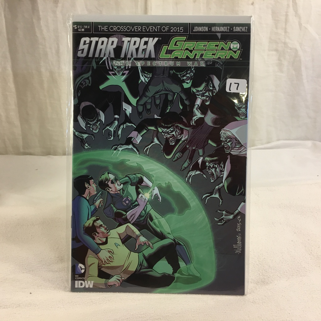 Collector IDW DC, Comics Star Trek Green Lantern The Spectrum War #5 Of 6 Cover A 2019