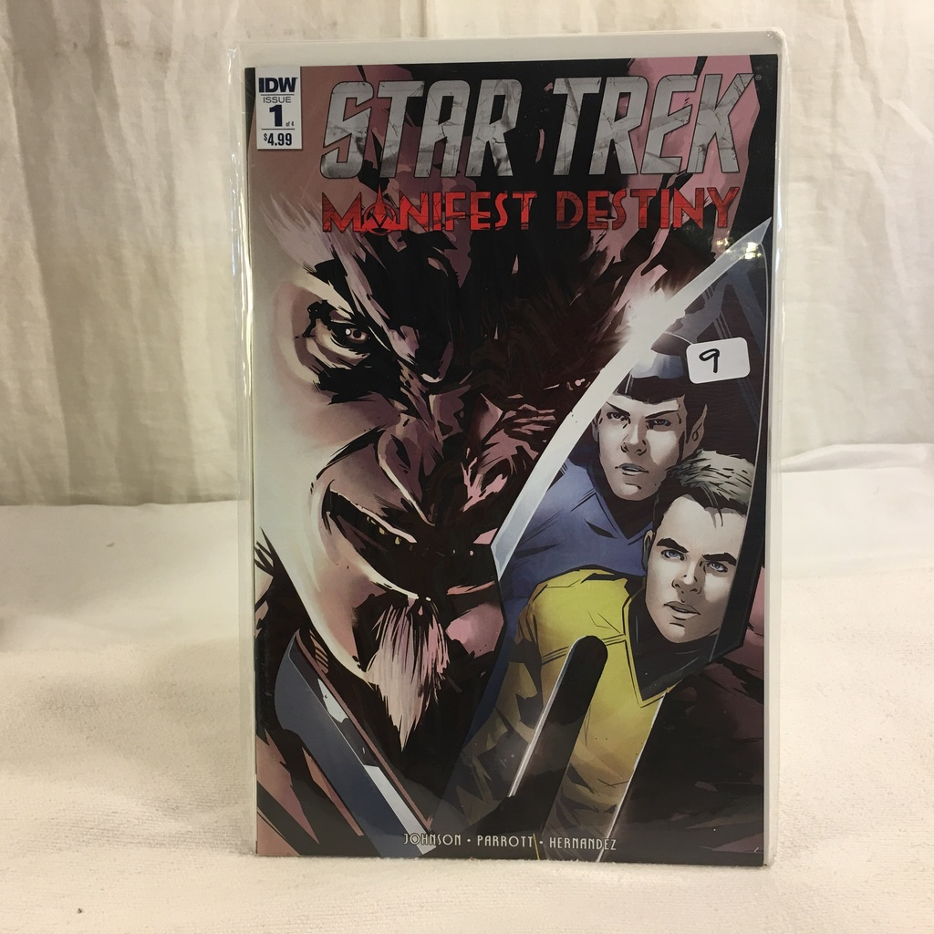 Collector IDW Comics Star Trek Manifest Destiny Issue #1 of 4 Comic Book