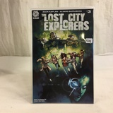 Collector Aftershock Comics The Lost City Explorers #3 Comic Book