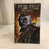 Collector IDW Comics Star Trek Discovery The Light Of Kahless Issue #1 Cover -A Comic Book