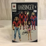 Collector Valiant harbinger #6 Hand Signed Autographed Comic Book