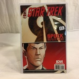 Collector IDW Comics Star Trek Issue #2 Spock Reflections 10th Comic Book