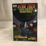 Collector IDW Star Trek New Visions Resistance #6 Comic Book