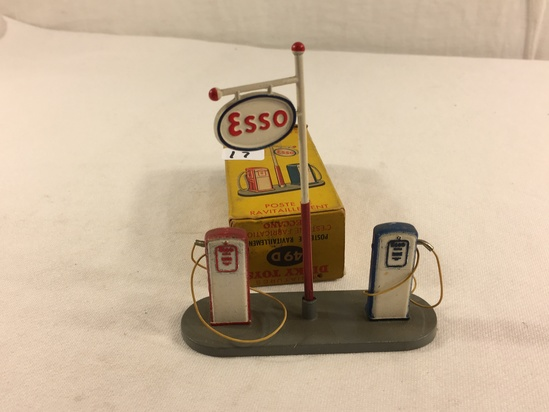 Collector Vintage Dinky Toys No.49D Poste De Revitaillement Made in England By Meccano W/Box