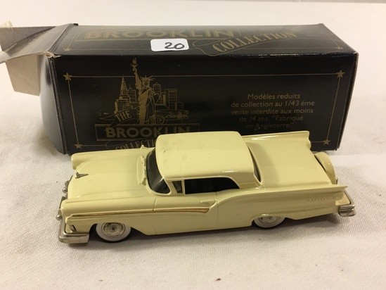The Brooklyn Collection BRk.35 1957 Ford Fairlane Skyliner Models 1:43 Scale DieCast Metal Car