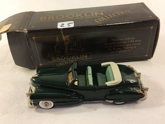 The Brooklyn Collection BRk.74 1947 Cadillac Convertible Models 1:43 Scale DieCast Metal Car