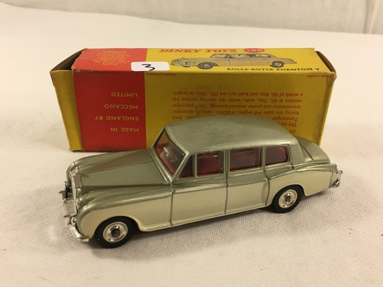 Collector Vintage Dinky Toys 198 Rolls-Royce Phantom V Opening Windows Forst Again W/Box