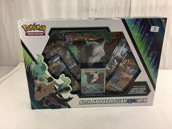 "Collector New Pokemon Trading card Game Detective Alolan Marowak GX Box Size:13x9.5"""