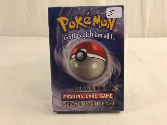 Collector Sealed in Plastic Pokemon The Starter Level 2-Player Starter Set Trading Card Game