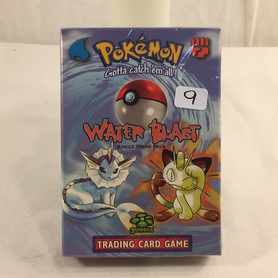 Collector Sealed in Plastic Pokemon Advance Level Water Blast Jungle Theme Deck Game Card