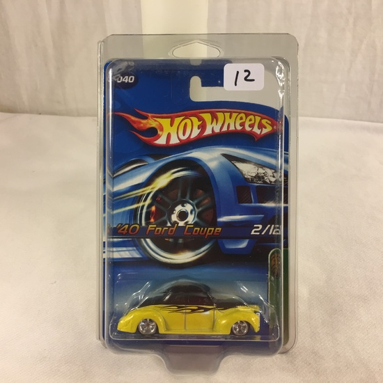 Collector NIP Hot wheels Treasure Hunt '40 Ford Coupe 2/12  Car 1/64 Scale Die-Cast Car
