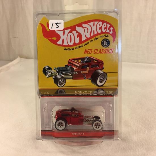 Collector NIP Hot Wheels NEO-Classics Honky Tonk Hot Rod 1 of 4 Series 12 Scale 1:64 DieCast Car