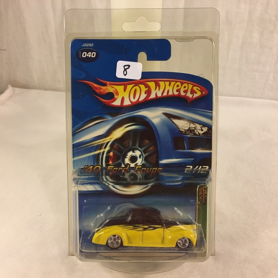 Collector NIP Hot wheels  Treasure Hunt  '40 Ford Coupe 2/12 Scale 1:64 DieCast Car