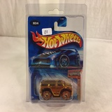 Collector NIP Hot wheels 2001 First Edition 34/100 Blings Hummer H2 1/64 Scale DieCast car