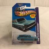 Collector NIP Hot wheels Mattel 1/64 Scale DieCast & Plastic Parts '64 Chevy Nova Station Wagon