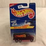 Collector NIP Hot wheels Mattel 1/64 Scale DieCast & Plastic Parts Heat Fleet Series  3/4 Car