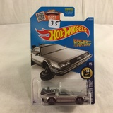 Collector NIP Hot wheels Mattel 1/64 Scale DieCast & Plastic Parts Back To Future Time Machine
