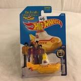 Collector NIP Hot wheels Mattel 1/64 Scale DieCast & Plastic Parts The Beatles yello Submarine