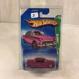 Collector NIP Hot wheels Treasure Hunt Series '55 Chevy 10/12 Car 1:64 Scale DieCast Car