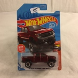 Collector NIP Hot wheels Mattel 1/64 Scale DieCast & Plastic Parts '19 Chevy Silverado Trail BOSS