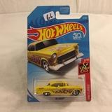 Collector NIP Hot wheels Mattel 1/64 Scale DieCast & Plastic Parts '55 Chevy 2/10 Car