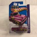 Collector NIP Hot wheels Mattel 1/64 Scale DieCast & Plastic Parts Custom '56 Ford F-100 Car