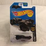 Collector NIP Hot wheels Mattel 1/64 Scale DieCast & Plastic Parts Batmobile Batman 5/5 Car