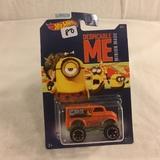 Collector NIP Hot wheels Mattel 1/64 Scale DieCast & Plastic Parts Despicable Me Monster Car 6/6