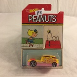 Collector NIP Hot wheels Mattel 1/64 Scale DieCast & Plastic Parts Peanuts Qombee 6/6 Car