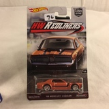 Collector NIP Hot wheels Mattel 1/64 Scale DieCast & Plastic Parts '68 Mercury Cougar HW Redliners