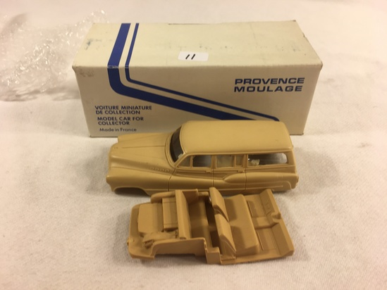 Collector Provence Moulage Buick Break Woodie 1950  Model Car Made in France Miniature