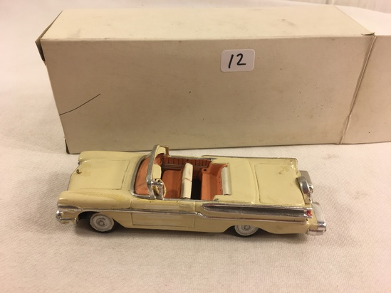 Collector ABC 1957 Mercury Clay Car - See Pictures