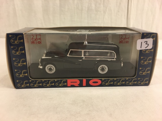 Collector RIO Modelli Auto D'Epoca Per Collzionsti Mercedes Capro Fenebre '0 Nero ARG 137
