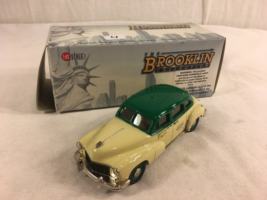 The Brooklin Collection BRK.89B 1949 Checker New York Taxicab National Transportation 1:43 Scale