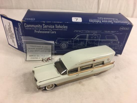 Community Service Vehicles Professional Cars CSV.16 1960 Miller-Metor Cadillac Guardian Amblunace