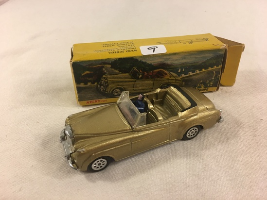 "In Oirginal Box Dinky Toys 194 Nicky Toys Bentley ""S"" Coupe Marvels In Miniature ATAMCO (P) Ltd"