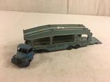 Collector Loose Vintage Dinky Toys Delivery Service Pullmore 582 Car Transporter Bedford England 9.5