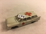 Collector Loose Vintage Plymouth Sports Suburban A Milton Product  White 4.1/8