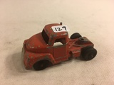 Collector Loose Vintage Slik-Toys Made By Lansing Usa No.9610 C  Red Truck Size: 3.3/4