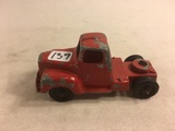 Collector Loose Vintage Tootsietoy Chicago 24 USA #2 Red Truck Die-Cast Metal 4.1/4