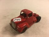 Collector Loose Vintage Tootsietoy  Chicago 24 USA Red Truck 4.1/4