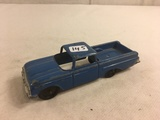 Collector Loose Vintage Tootsietoy Chicago 24 Made in USA  Chevrolet El Camino Blue Car 5.5