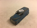 Collector Loose Vintage Tootsietoy Made in USA Tail Blue Car 4