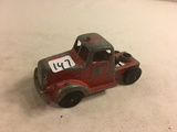 Collector Loose Vintage Tootsietoy Red Truck  Chicago 24 USA Size: 4.1/8