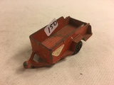 Collector Loose Vintage Tootsietoy Orange Lof Wood Trailer Chicago Made in Usa DieCast 3