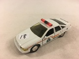 Collector Loose 1993 Road Champs Chevrolet Caprice Police 1/43 Scale DieCast metal Car