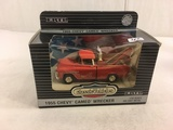 Collector ERTL NIB 1955 Chevy Cameo Wrecker Classic Vehicles 1/43 Scale DieCast Metal