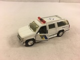 Collector Loose 1995 Road Champs Chevrolet Suburban State Police Emergency Van 1/43 Scale Van