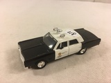 Collector Loose Police Car Dimension 4 Scale 1/43 Die-Cast Metal and Plastic Parts Car